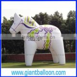 Giant White Inflatable Horse