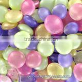 frosted flat glass marbles