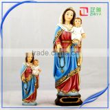 The Virgin mary and baby jesus Catholic religiou Figurine Decoration