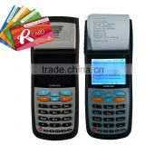 Handheld bus ticketing machine for bus ticketing accept card and cash payment, with thermal printer