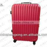 travel tow trolley bag suitcase, ABS+PC travel suitcase, hard case luggage bags,hard shell abs luggage roller cabinet