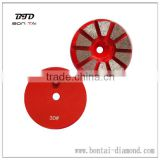 Diamond Tools Concrete Diamond Grinding Shoe Round 10 Segments Diamond Floor Abrasive Grinder Tools