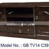 New Antique MDF Furniture Small TV Stand, tv cabinet with showcase, wooden lcd tv stand design, corner lcd tv furniture, tv unit