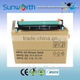 High quaity drum unit NPG 32/GPR22 / EXV18 copier parts for use in Canon iR1018/1019/1020 drum unit