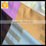 Alibaba suppliers 100% polyester luxury brilliant textile material fabric for curtain