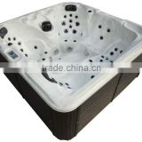 acryilc hot spring Cold and Hot combo Square whirlpool spa tub water bath with luxury cover