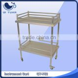 Stainless steel medical instrument cart QY-752