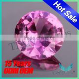 Wuzhou wholesale synthetic diamonds 3# ruby gemstone, synthetic corundum rough, rough ruby corundum