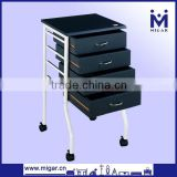 Wholesale Black Hair Salon Trolley MGR-9730
