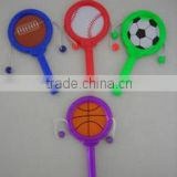 Sports ball baby rattle