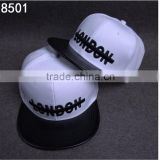 Wholesale Snapback Hats Custom Embroidery Flat Brim Snap Back Caps And Hats