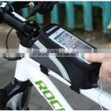 Bicycle Waterproof Smartphone Bag Bike Handlebar Phone Bag Touchscreen bag