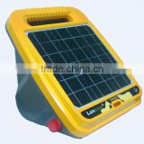 High quality farm electric fence energiser/charger for horse fencing,Solar panel integrated