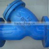 Blue surface treatment tractor tube valve