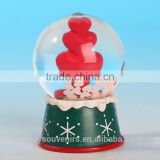 Polyresin Glass Water Ball of small Snow Globes Wholesale ,love gifts