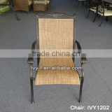 dining cast aluminum frame with PE rattan chair /rattan furniture in China (Foshan )