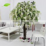 Artificial Wisteria Trees White Color for Wedding Decoration BLS053 GNW