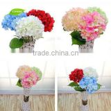 GNW FLH01 Factory Price Silk Flower Wedding Bouquet Wholesale Artificial Hydrangea Flowers