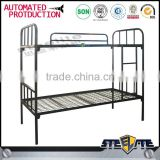 Home furniture cheap metal double decker bed design steel bunk beds