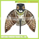 new design hunting Simulation animal garden ornaments plastic owl decoys with Spread wings