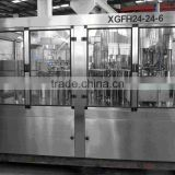 XGFH24-24-6 rinsing, filling, capping 3 in 1 monoblock water filling machine