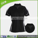 wholesale china new high quality women branded dry fit sublimation custom polo shirts design