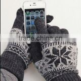 Wool gloves for iphone