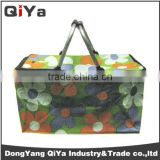 Wholesale Collapsible Folding Cardboard Picnic Baskets/Fabric Cooler Bag