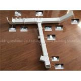 House Roofing Used PVC Rain Gutter For Rain Drainage System