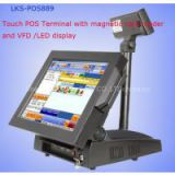 15 inch Touch POS PC  Pos system with touch screen