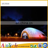 New Desing hard shell roof top tent lighting tent, inflatable big dome tent for party event