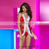 new Hot sexy selling red lace christmas costume sexy women party christmas costume