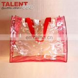 High Quality Wholesale Custom transparent pvc cosmetic bag with good price