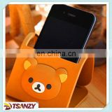 cartoon bear mobile phone holders ,pvc cellphone holder