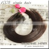 2015 new coming top selling remy virgin extension double drawn cheap brazilian human hair clip in hair extension