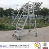 Portable Warehouse Aluminum Ladder with Platform