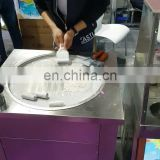 35cm Round Pan Table Top Fried Ice Cream Frying Fryer Machine Image