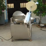 Production 80kg/h Capacity Meat Grinder Machine Bowl Cutter Mixer