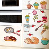 Fun Food Removable Fridge Sticker Life Planner