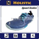Good Quality Flexible Goat Skin Leather Running Shoes