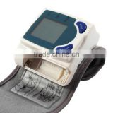 Automatic Intelligent Compression & Decompression Digital Wrist Watch Blood Pressure Monitor with Pulse Rate function