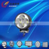 New product 12W super bright auto lighting led sealed beam for truck trailer ATV offroad