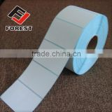 Blank direct thermal adhesive label, thermal adhesive paper label                                                                         Quality Choice