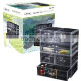 TV Useful convenience acrylic makeup organizer drawers for storage