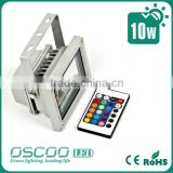 2014 new designs art deco light fixtures rgb 10w led floodlight