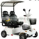 Heavy duty 4 wheel electric scooter 24V 950W 2 seats