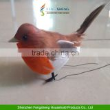 Box of 12pcs Artificial Christmas Xmas Gift Bird Robin Feather Birds Tree Decoration Craft