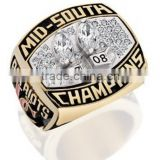 customized Football sport Championship rings deep engraved