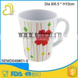 wholesale melamine mug plastic drinking cup with handle                                                                                                         Supplier's Choice