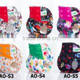 Hot sale ananbaby printed night use absorbent aio cloth diaper                                                                         Quality Choice